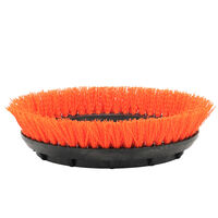 Orange Scrub Brush