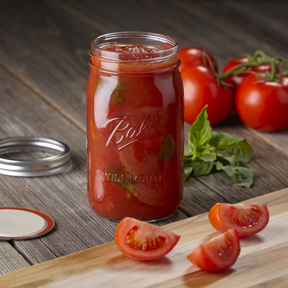 32 oz wide mouth mason jars - Ball Wide Mouth Quart 32 Oz Glass Mason Jars With Lids And Bands 12 Count