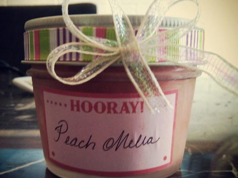 Peach Melba Freezer Jam - Ball® Recipes - Fresh Preserving