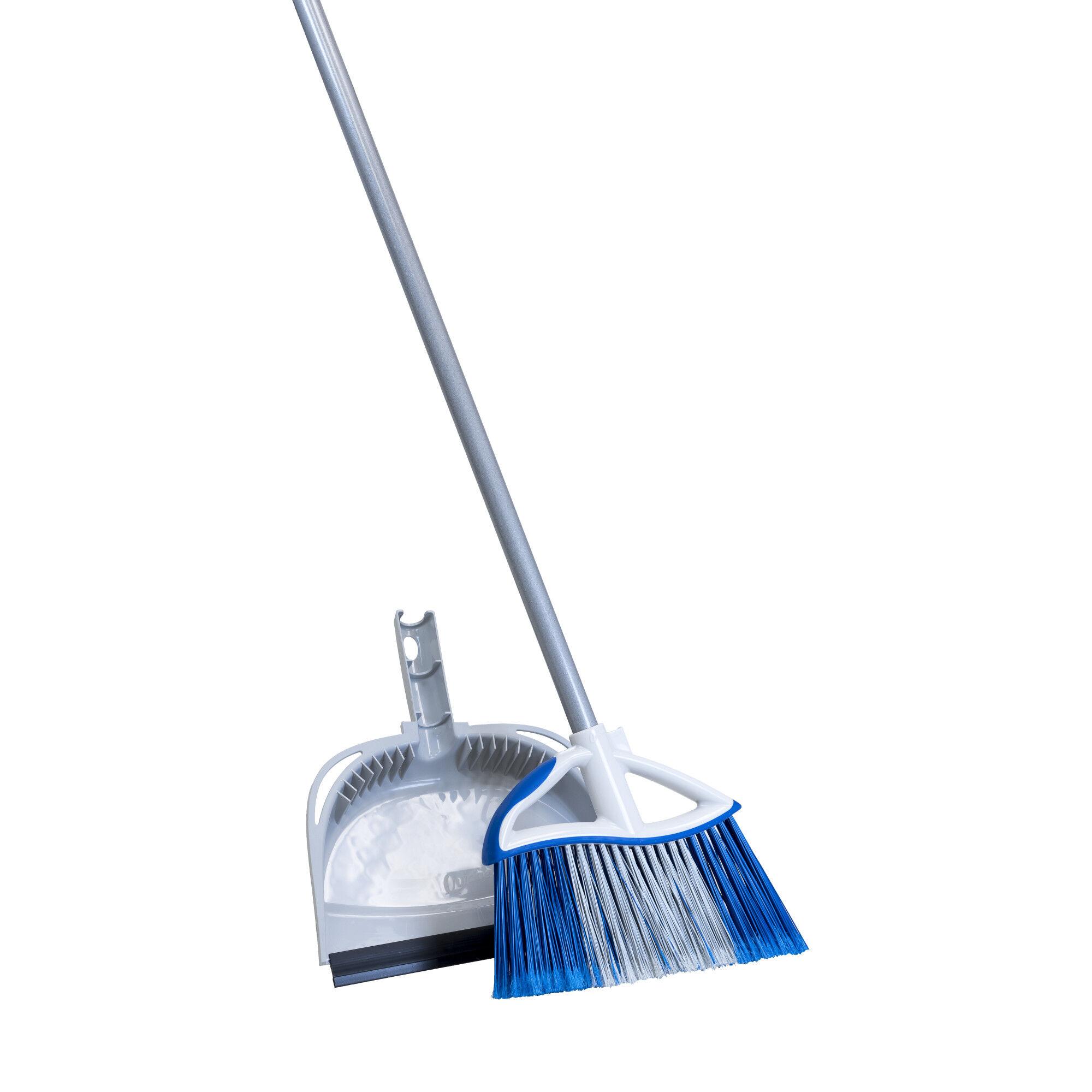 small angle broom dust pan