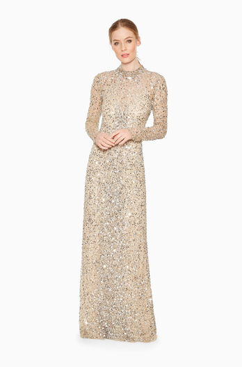 Leandra Dress - Silver