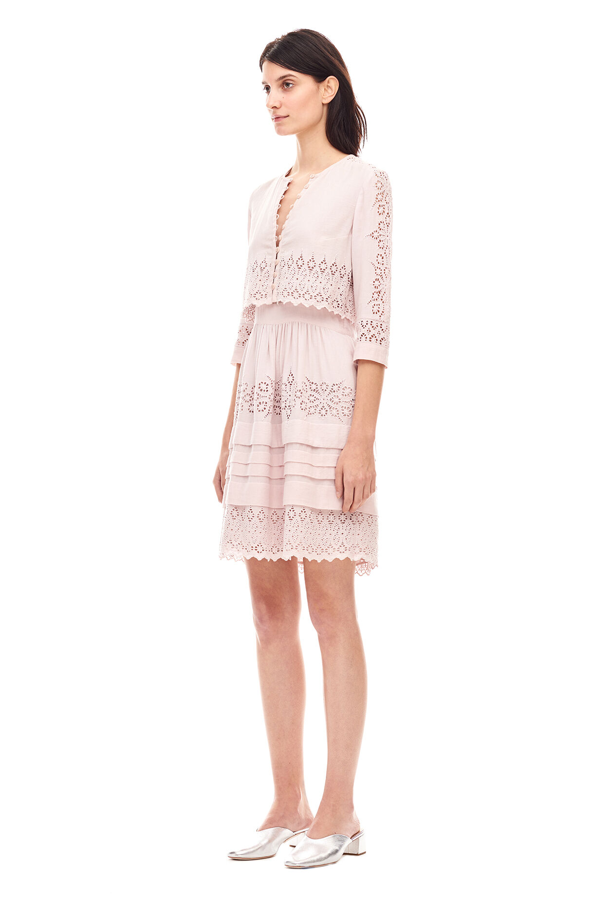 rebecca taylor dress white