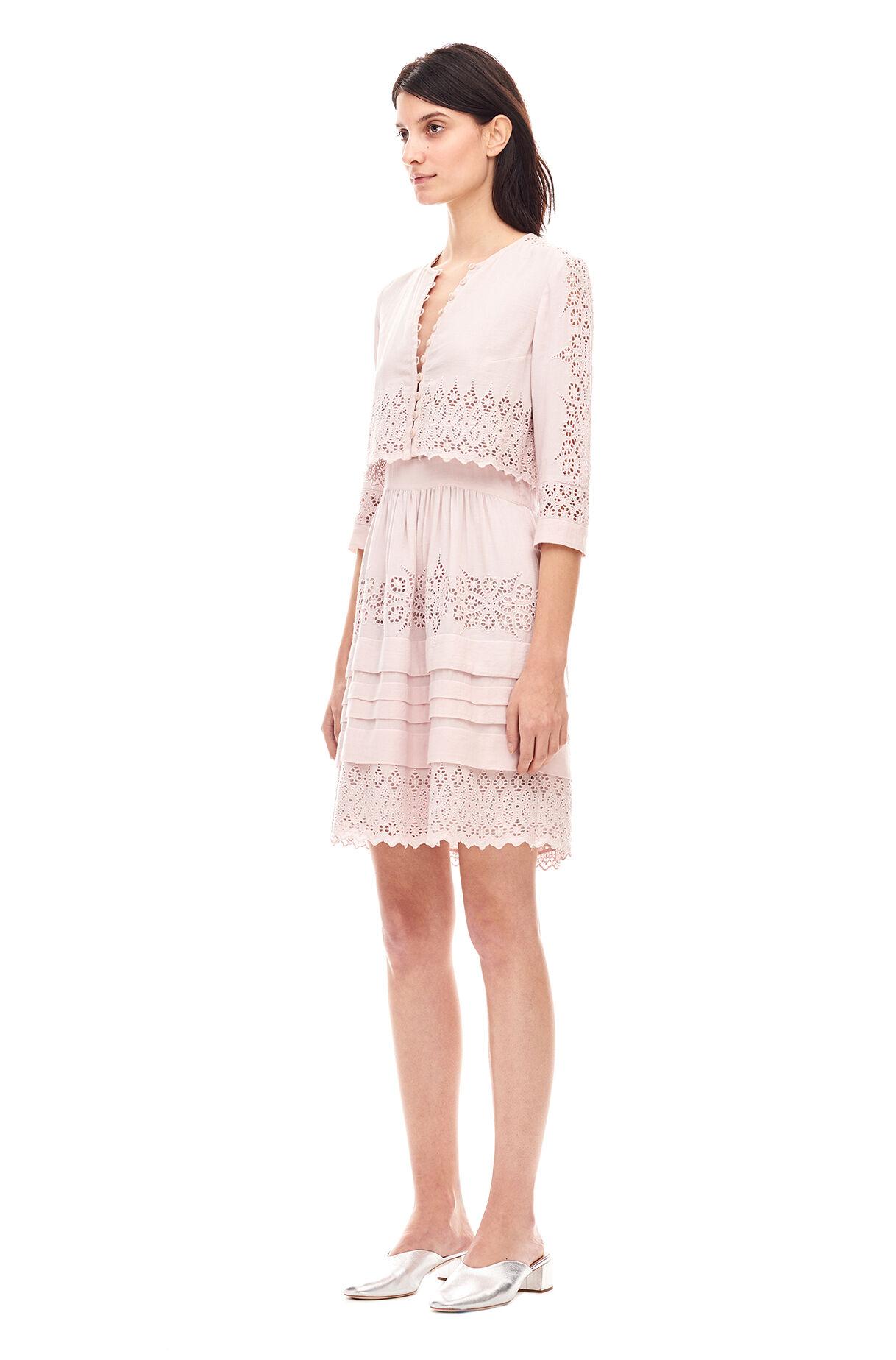 rebecca taylor dress white