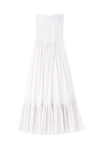 La Vie Lurex Stripe Halter Dress