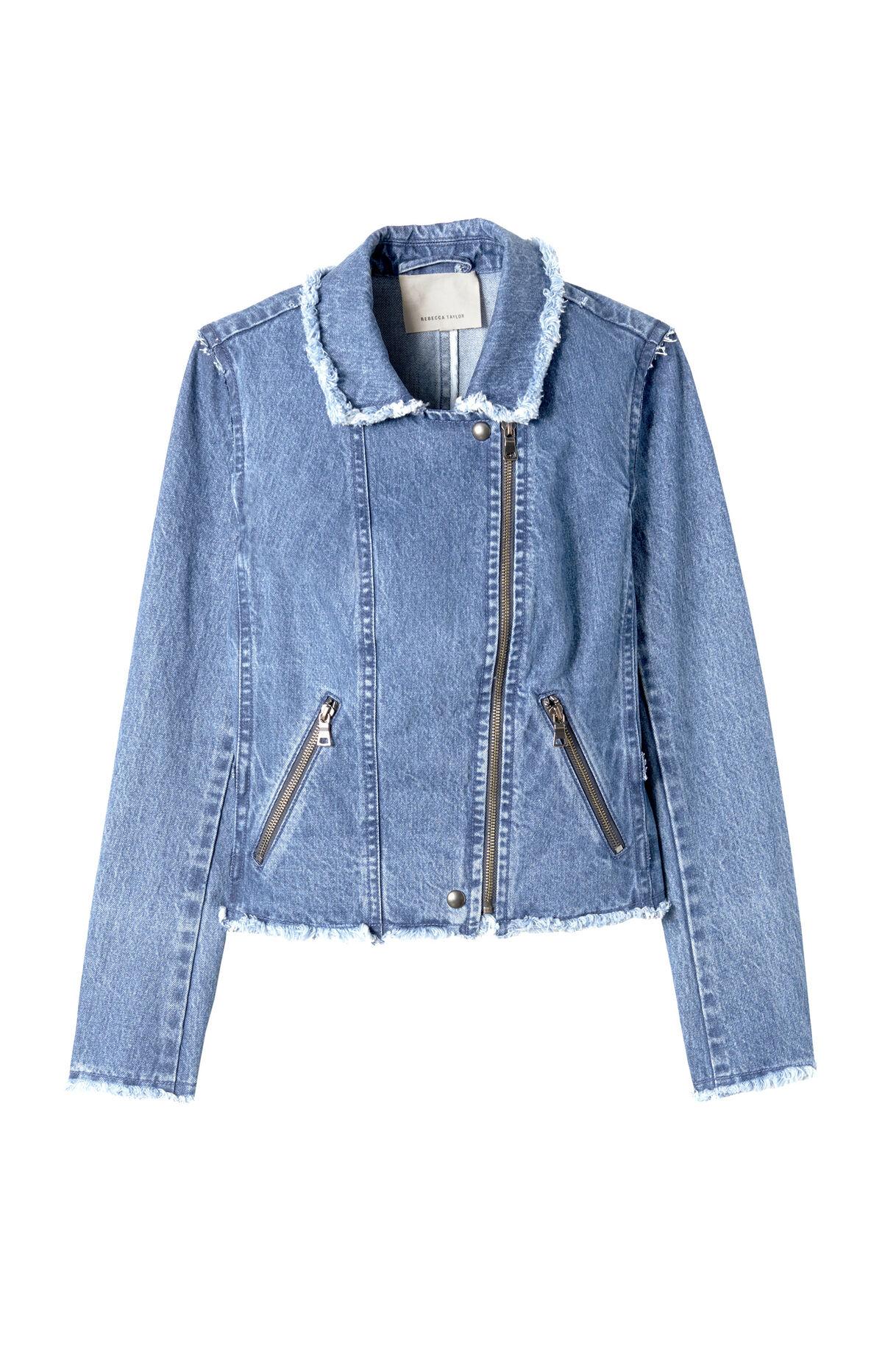 Washed Denim Jacket | Rebecca Taylor