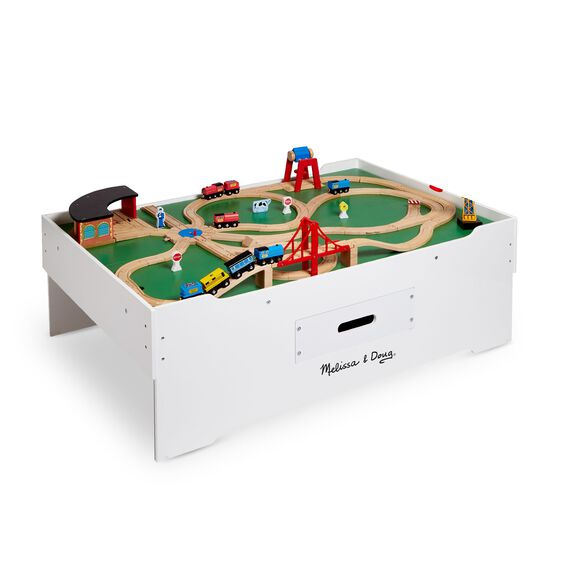 Multi Activity Train Table Melissa Amp Doug