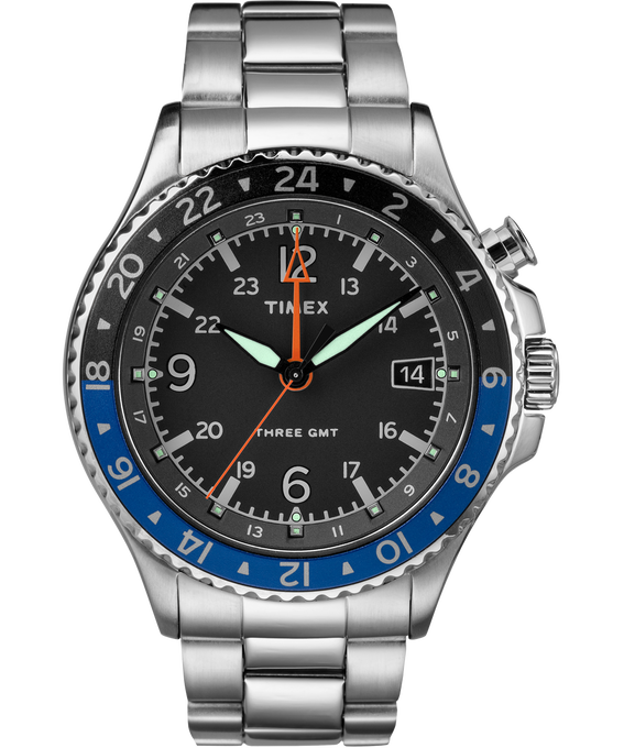 Allied™ Three GMT powered by Intelligent Quartz® Technology  large