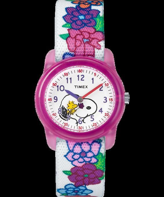 Timex x Peanuts – Snoopy & Flowers  large